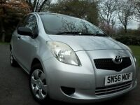 Toyota Yaris 2006 Registerd 44 MPG Mot July 2017 New Disk & Pads Low Tax & Insurance Elctric windows