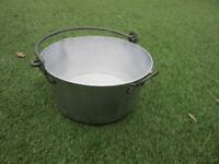 Heavy Duty Preserve Pan 12 inches across and 6 inches deep
