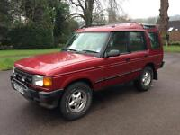 1996 Land Rover Discovery ES 300 TDI Manual 4x4 *NEW CAMBELT AND CLUTCH* Full History