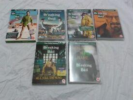 Breaking Bad - Complete Series of six seasons