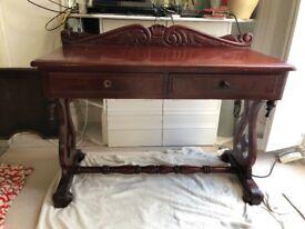 Antique oriental desk