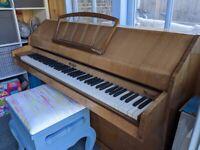 Eavestaff Mini Piano With Stool