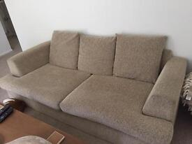 FREE Very comfy 3 seater sofa.
