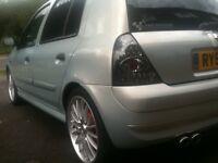 Renault Clio LED Pair Rear Brake Light 01-06 Light Tint Style Fit 3or5 16v 172 182 Sport V6 100sales