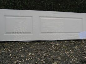 """4 NEW PRIMED COLONIAL DOORS, STILL IN POLYTHENE, 1981mm(78"""") x 609mm(24"""") 35mm. WILL SELL SEPARATELY"""