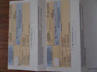 American Airline flight vouchers