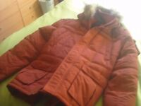 brand new mens parka