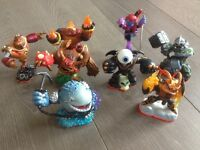 Full set of Skylanders giants.