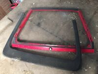 VW mk2 Scirocco boot lid and spoiler gl gti- not golf mk3 mk4 mk5