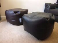 Two pouffes in very good conditions