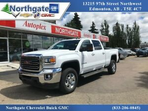 2017 GMC Sierra 3500HD Crew Cab 4x4 6.0L Heated Leather Buckets