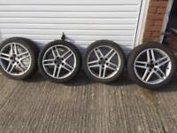 Saab alloy wheels x4