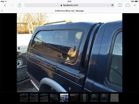 Ford ranger double cab hard top 2003
