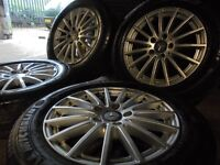 16inch genuine mercedes benz ALLOYS WHEELS vito amg S, E ,A ,C CLASS c63 e63