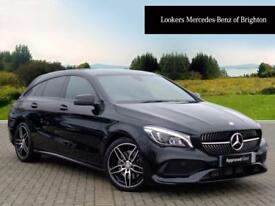 Mercedes-Benz CLA CLA 220 D AMG LINE (black) 2017-07-31