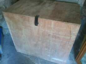 Large Plywood Chest