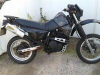 honda very rare xl 600 e start moto