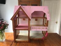 Lovely Large Handbuilt Dolls House