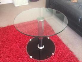 Glass coffee / side table