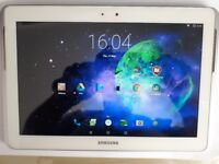SAMSUNG GALAXY TAB 2 GT-P5100 16GB, WI-FI + 3G (UNLOCKED), 10.1IN - WHITE FOR SALE