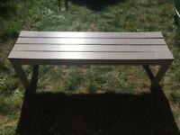 Grey Ikea Garden Bench, £10, Abbey Wood, London, SE2