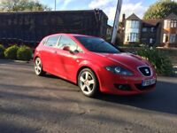 SEAT LEON 1.6 2007 RED MANUAL 5DR