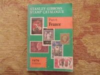 Stanley Gibbons stamp catalogue - Part 6 France 1979