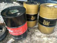 Used oil drum 45 gallon/199 ltrs