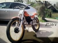 Honda rs250te tlr250 trials bike