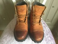 Mens Leather Rockport Boots New size 8.5