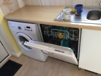 Zanussi integrated dish washer