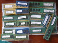 Assorted memory modules