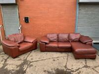 Leather sofa set delivery 🚚 sofa suite couch