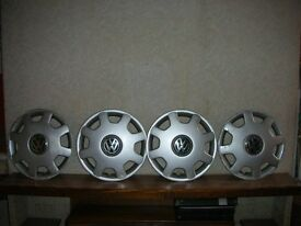 WHEEL TRIMS FOR VW 15 INCH