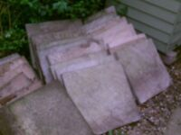 Paving slabs free to a good home