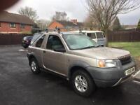 Land Rover freelander (diesel)