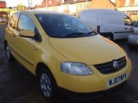 2007 Volkswagen Fox 1.2 low mileage