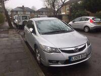 Honda Civic IMA Hybrid EX Saloon 4dr