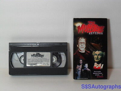 1981 The MUNSTERS REVENGE in Color 1996 VHS Comedy Horror Mockingbird Lane Lily - The Rugrats Halloween Vhs