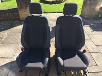 Zetec s passenger and driver seat