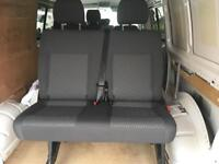 Volkswagen T5 folding bench seats in Tassimo.