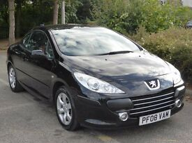 PEUGEOT 307 ALLURE CONVERTIBLE..IMMACULATE CONDITION!