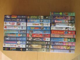 Selection of 31 assorted VHS format videos