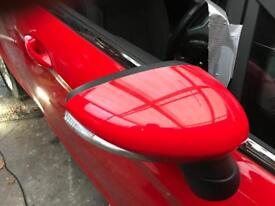 Ford Fiesta 2015 new shape breaking Parts red