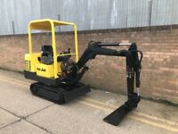 1999 Peljob 1.5ton mini digger, low hours, full set of buckets