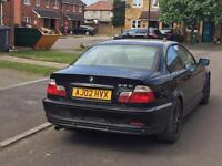 2002 BMW 318CI SPARES OR REPAIR