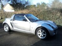 SMART ROADSTER SPEEDSILVER AUTO 700cc CONVERTIBLE 2004