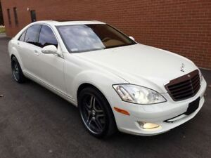 2008 Mercedes-Benz S-Class S450 -- 4MATIC -- WHITE ON BEIGE