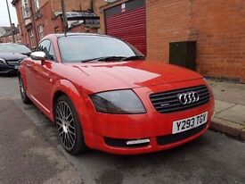2001 AUDI TT 1.8 QUATTRO..225 BHP..LONG MOT..QUICK SALE