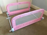 Pink Double Bedrail